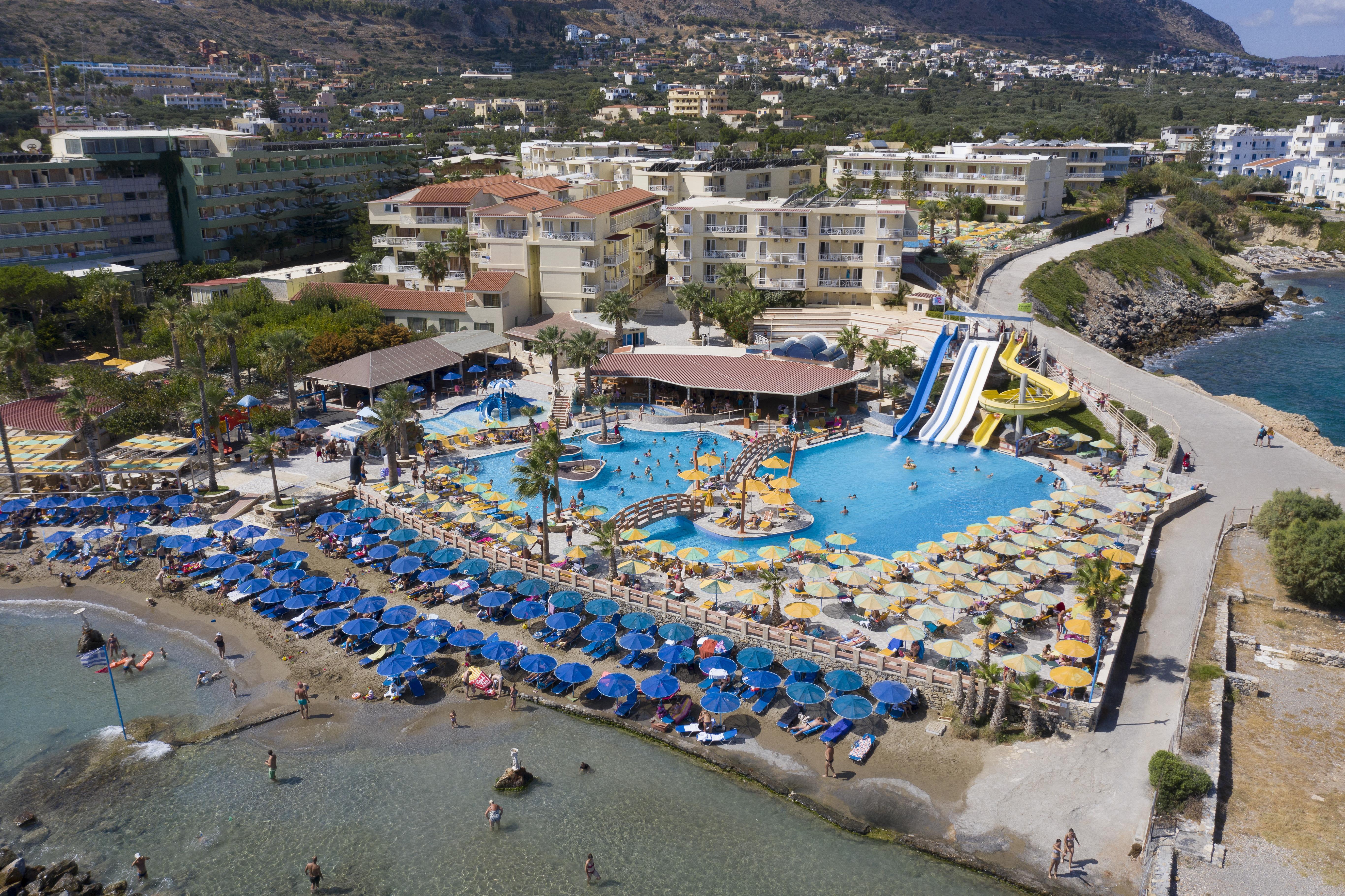 Эйр бич крит фото отеля и пляжа